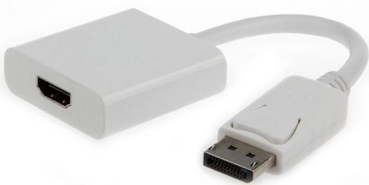 DisplayPort to HDMI adapter cable white Abc Servis Prodavnica