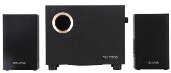 Microlab Aktivni drveni zvučnici 2.1 - 10W 3 Abc Servis Prodavnica