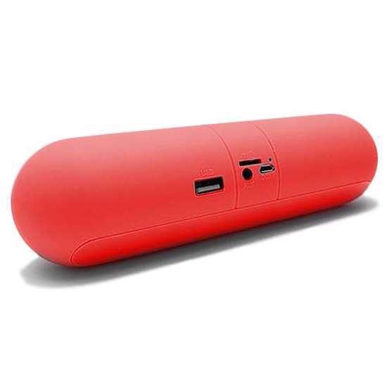 Zvucnik FANTASY PILL Bluetooth crveni 2 Abc Servis Prodavnica