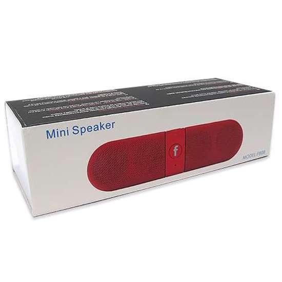 Zvucnik FANTASY PILL Bluetooth crveni 3 Abc Servis Prodavnica