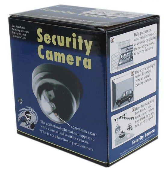 Dome dummy security camera IMITACIJA KAMERE 3 Abc Servis Prodavnica